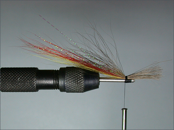 Spey Shrimp salmon tube fly - step 4