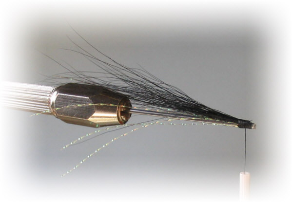 Simple Snake Fly - step 4