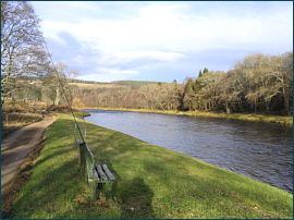 River Spey at Wester Elchies