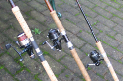 salmon spinning reels