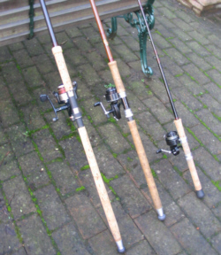 salmon fishing tackle, Reel Combo