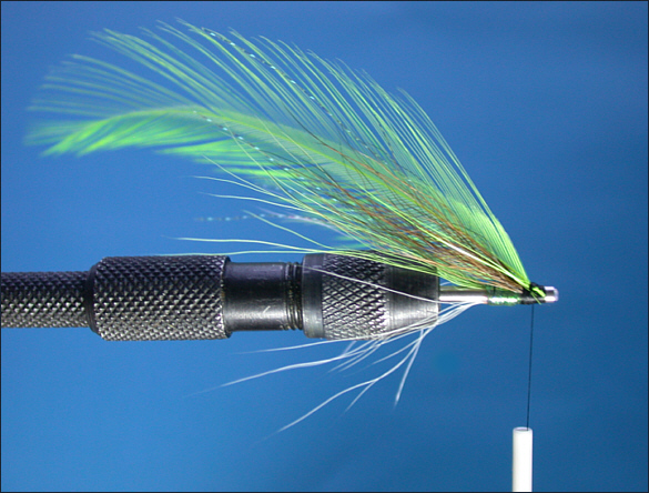 The Spring Green Tube Fly Step 7