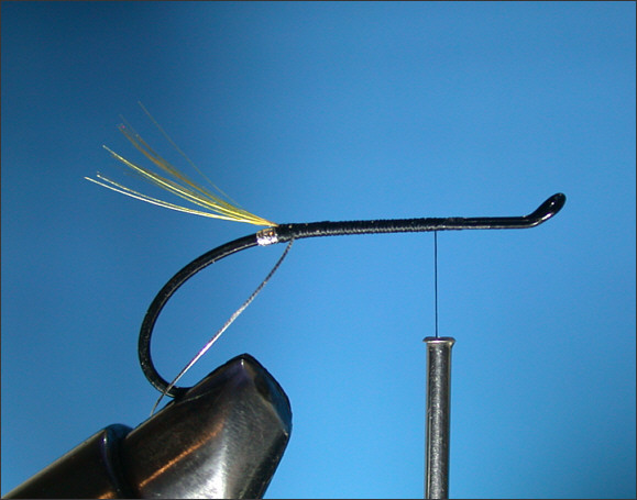 Stoat's Tail Salmon Fly - step 2