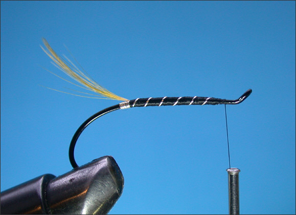 Stoat's Tail Salmon Fly - Step 3