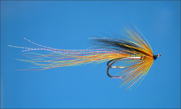 The Cascade Salmon Fly - double hook