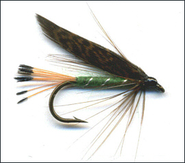 Grouse & Green Trout Fly