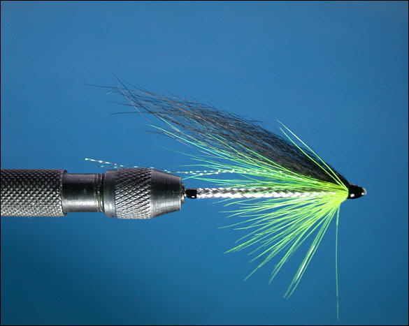 The Snake Tube Fly - step 1