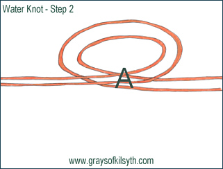 The Water Knot - Step Two