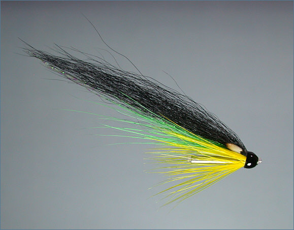 Wee Monkey Salmon Fly - Green