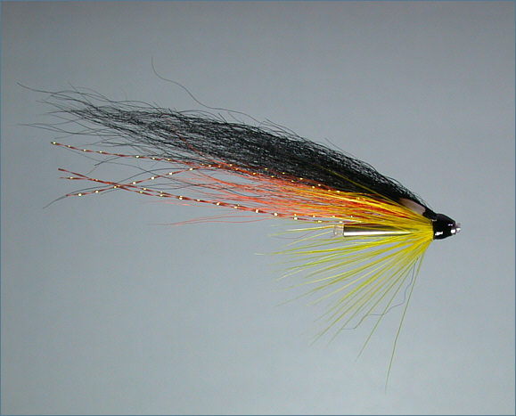 Wee Monkey Needle Tube Fly - Orange